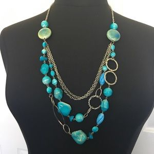 Torrid Turquoise Layered Necklace